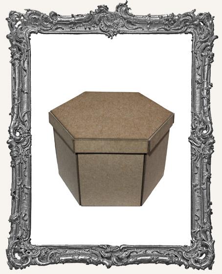 Victorian Exploding Picture Box Kit - MEDIUM - HEXAGON