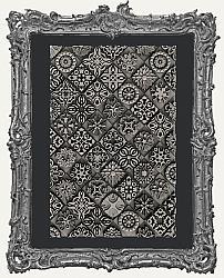 Zuri Silicone Mold Texture Stamp - Moroccan Motif