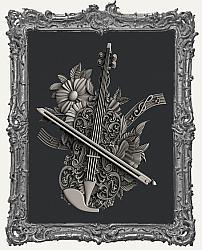 Zuri Silicone Mold - Violin Magic