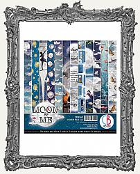 6X6 Ciao Bella Double Sided Paper Pad - Moon and Me