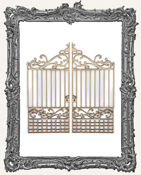 Wood Iron Gate - 1 Set
