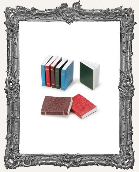 Miniature Assorted Color Books - 8 pieces