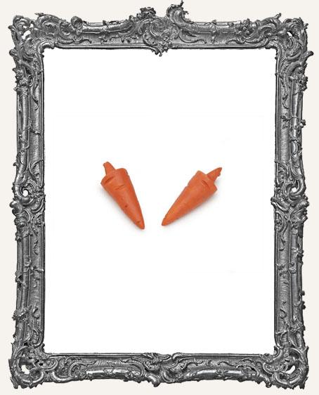 Miniature Snowman Carrot Nose - 2 pieces