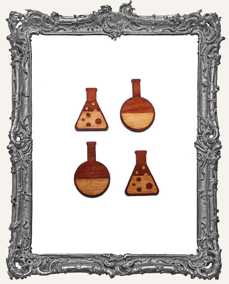 Chemistry Bottle Cut Outs � 4 Pieces