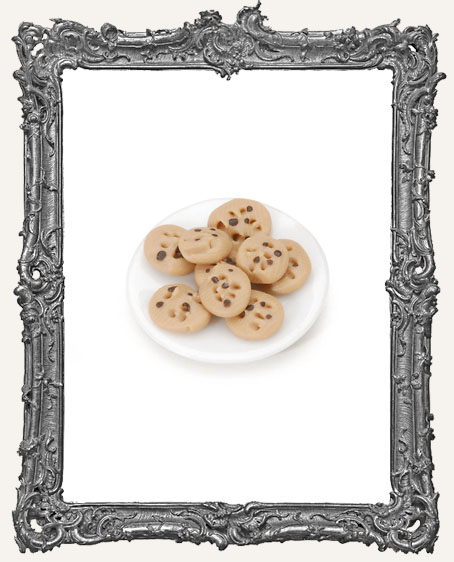 Miniature Chocolate Chip Cookie Plate