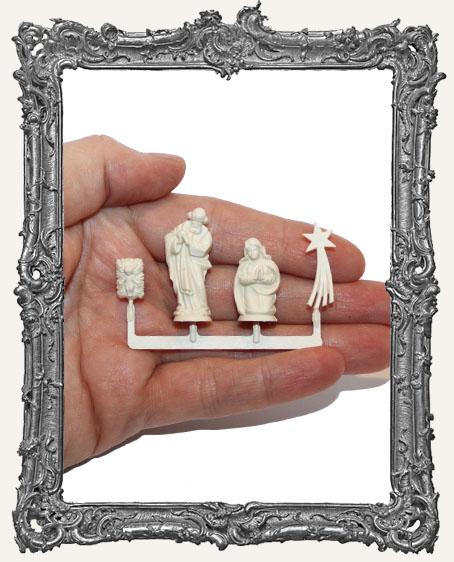 Ivory Nativity Set - Medium