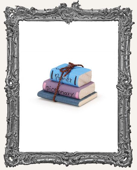 Miniature Primary Wood School Books