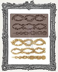 Prima Art Decor Mould - Floral Chain