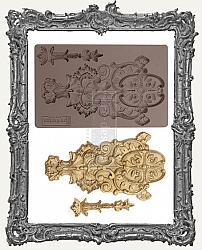 Prima Art Decor Mould - Golden Emblem