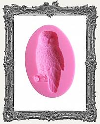 Small Pink Silicone Mold - Owl