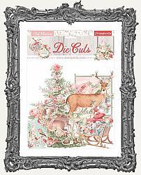 Stamperia Die-Cuts - Pink Christmas
