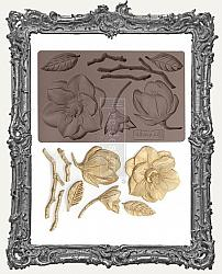 Prima Art Decor Mould - Winter Blooms