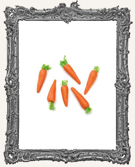 Miniature Carrots - 3/4 inch - 6 pieces