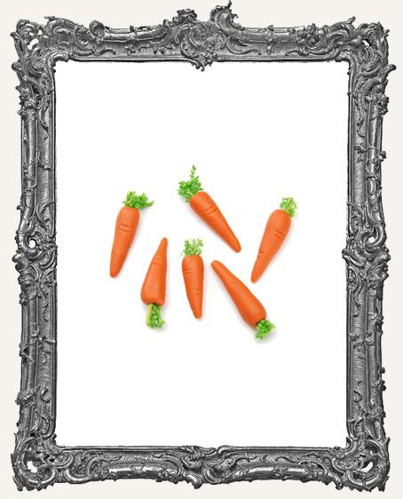 Miniature Carrots - 3/4 inch - 6 pieces