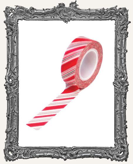 Washi Tape - Holiday Stripes