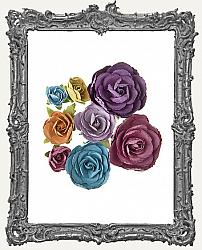 Large Paper Blooms - Jewel Tone Collection