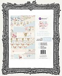 Prima Marketing Vintage Christmas Double-Sided Paper Pad - Christmas Sparkle - 8 x 8 Paper