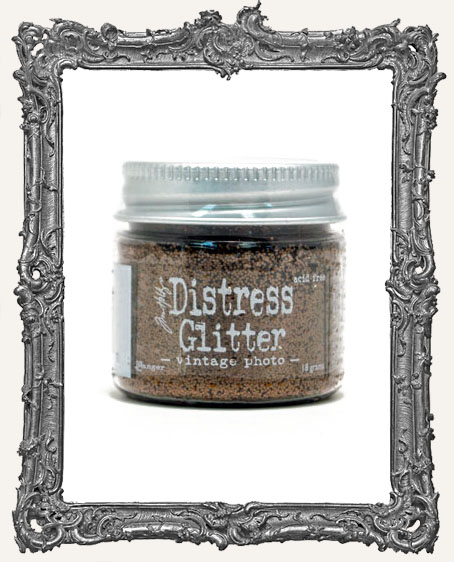 Distress Dry Glitter - Vintage Photo
