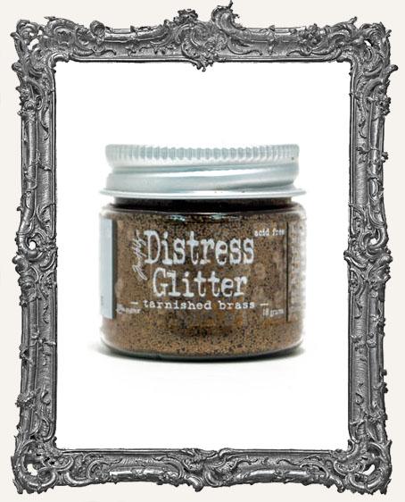 Distress Dry Glitter - Tarnished Brass