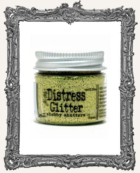Distress Dry Glitter - Shabby Shutters
