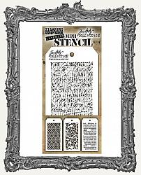 Tim Holtz Mini Layered Stencil Set - Set 49
