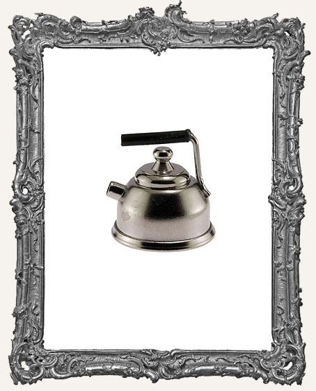 Miniature Silver Metal Teapot