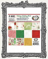 6X6 Paper Pack 49 And Market Collection - Vintage Artistry Noel