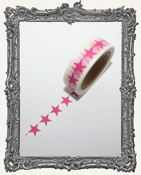 Washi Tape - Pink Star
