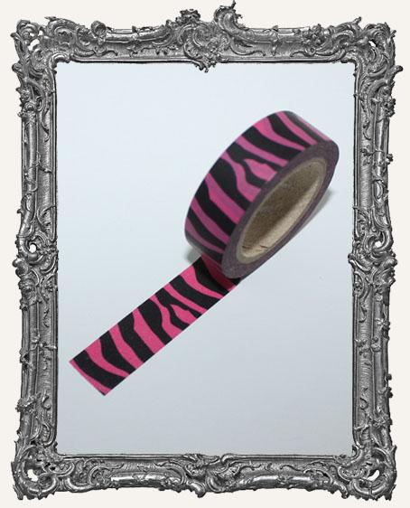 Washi Tape - Pink Zebra