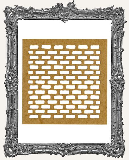 LARGE Brick Stencil