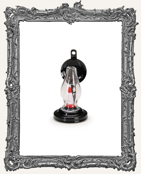 Miniature - Black Chimney Candle Sconce - 2 inches