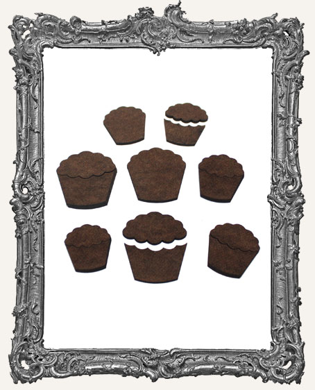 Cupcake Cut-Outs - 12 Pieces