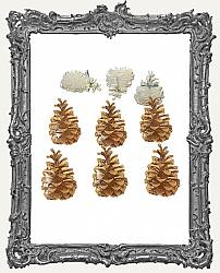Pinecone Brads - 12 Piece