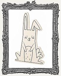 Young Artists - Paintable Wood Standing Bunny