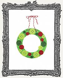 Young Artists - Foamies Button Wreath Kit - Makes 3 Wreaths