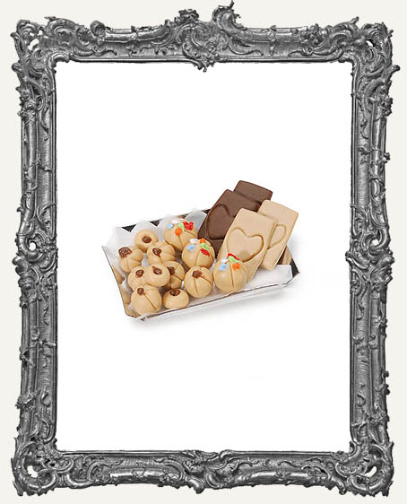 Miniature Cookie Tray with Cookies
