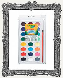 Young Artists - Crayola - Washable Watercolor Paint Set - 24 Colors
