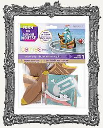 Young Artists - Foamies Foam Sailboat Kit