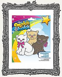 Young Artists - Makit and Bakit Glitter Suncatcher Kit - Kittens