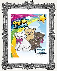 Young Artists - Makit and Bakit Glitter Suncatcher Kit - Kittens