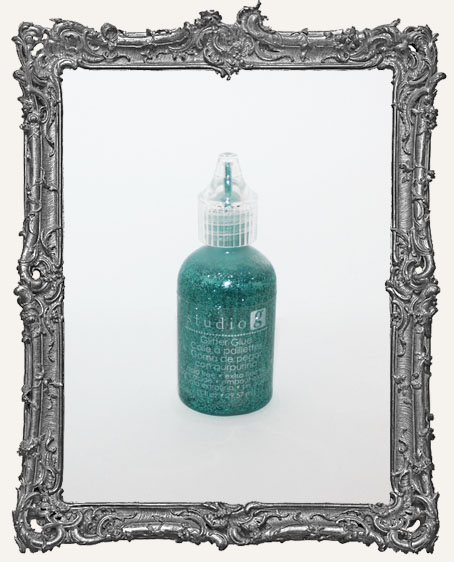 Studio G By Hampton Arts Glitter Glue - Turquoise