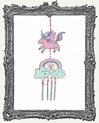Young Artists - Unicorn and Rainbow Wind Chime Kit