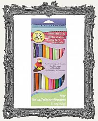 Young Artists - EZ Shape Non-Hardening Modeling Clay 13oz - 20 Piece Pack
