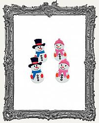 Snow Couple Brads - 12 Piece