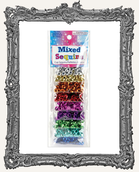 Mixed Sequins - 9 Different Colors