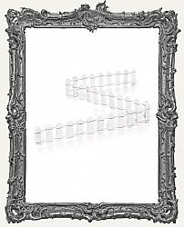 White Picket Fence - 18 Inch x 1 Inch