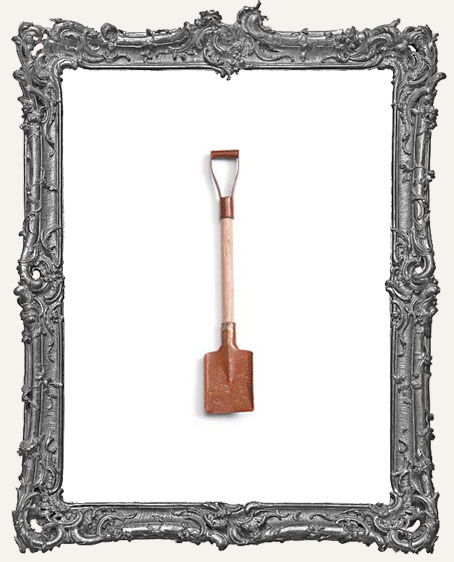 Miniature Rustic Snow Shovel