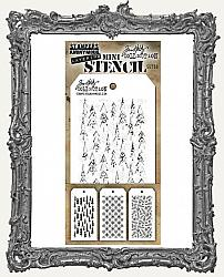 Tim Holtz Mini Layered Christmas Stencil Set - Set 50