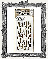 Tim Holtz Layering Stencils - TREE LOT
