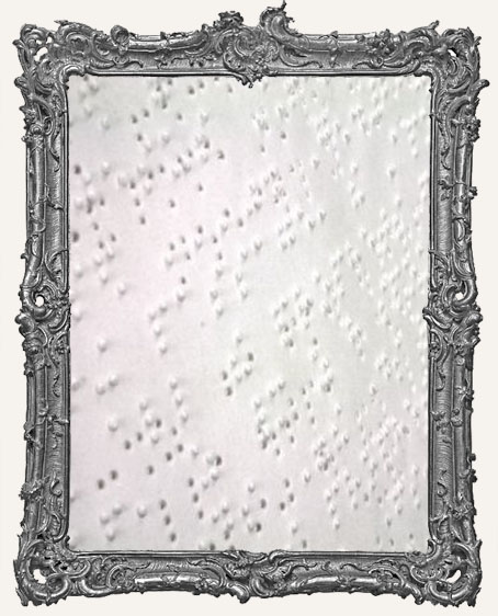 Vintage Braille Paper - 6 Pages